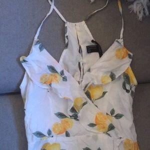 Forever 21 Dresses - Lemon dress